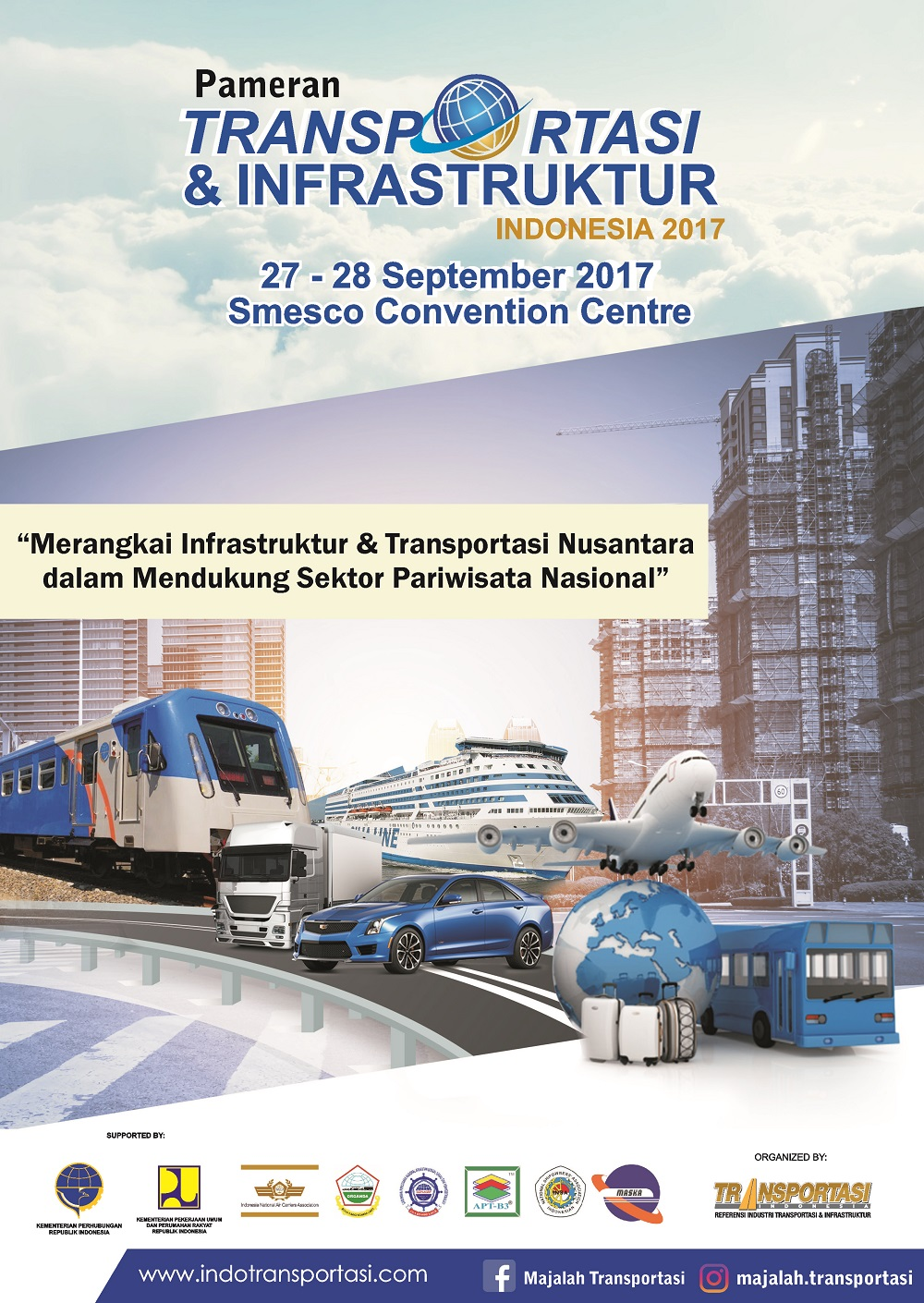 Photo of Pameran Transportasi & Infrastruktur Indonesia, 27 – 28 September 2017