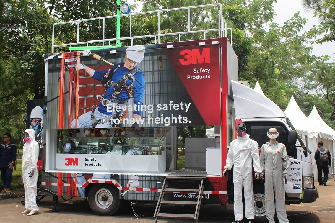 Photo of 3M Luncurkan 3M Safety Technology Day dan Safety Mobile Training Center