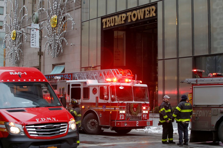 Photo of Kebakaran Trump Tower di New York 1 Orang Terluka Parah