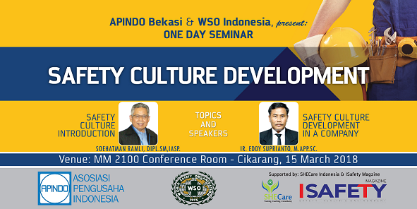 "Photo of One Day Seminar ""Safety Culture Development"" – APINDO BEKASI dan WSO Indonesia"