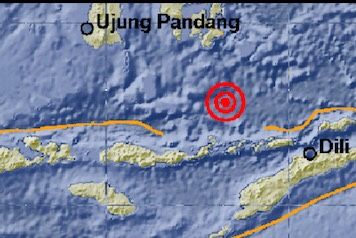 Photo of Gempa 5,6 SR Guncang Florest Timur, Tak Berpotensi Tsunami