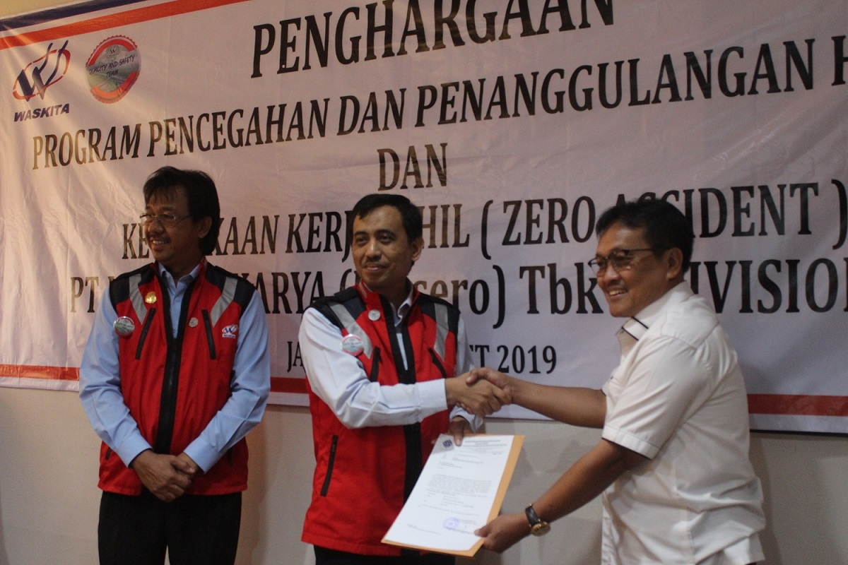 Photo of Divisi VII Waskita Borong Penghargaan 'Zero Accident'